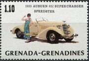 Grenada Grenadines 1983 The 75th Anniversary of Ford T g