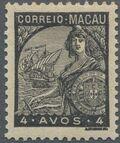 Macao 1934 Padrões e