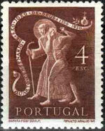 Portugal 1950 400th anniversary of the death of St. John of God f