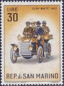 San Marino 1962 Automobiles (pre-1910) j