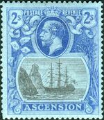 Ascension 1924 Seal of the Colony kc