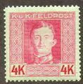 Austria 1917-1918 Emperor Karl I (Military Stamps) s.jpg