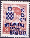 Croatia 1941 Anniversary of Independence f