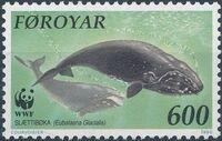 Faroe Islands 1990 WWF - Whales c