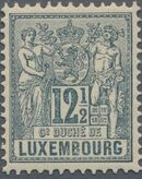 Luxembourg 1882 Industry and Commerce f