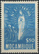 Mozambique 1948 Lady of Fatima a