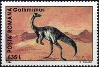 Romania 1994 Dinosaurs f