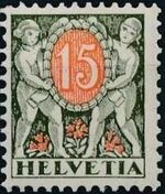 Switzerland 1924 Postage Due Stamps c