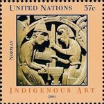 United Nations-New York 2004 Indigenous Art b