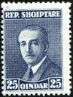 Albania 1925 President Ahmed Zogu f