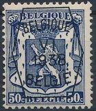 Belgium 1938 Coat of Arms - Precancel (6th Group) f