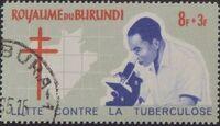 Burundi 1965 Fight Against Tuberculosis d