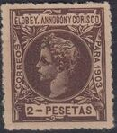 Elobey, Annobon and Corisco 1903 King Alfonso XIII n