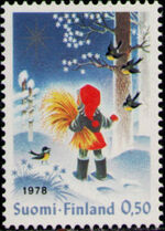 Finland 1978 Christmas a