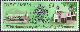 Gambia 1966 150th Anniversary of the Founding of Bathurst c