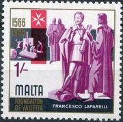 Malta 1966 4th Centenary Of The Foundation Of Valletta d