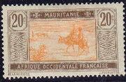 Mauritania 1913 Pictorials g