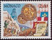 Monaco 1997 700th Anniversary of the Grimaldi Dynasty - 1st Serie g