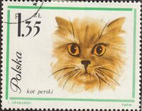 Poland 1964 European Cats f