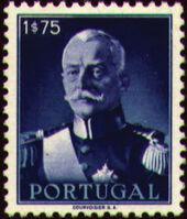 Portugal 1945 President Carmona f