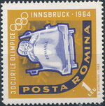 Romania 1963 9th Winter Olympic Games in Innsbruck g
