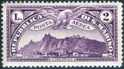 San Marino 1931 Air Post Stamps d