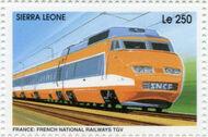 Sierra Leone 1995 Railways of the World 3e