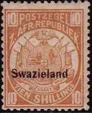 Swaziland 1889 Coat of Arms v