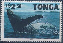 Tonga 1996 WWF Humpback Whale d