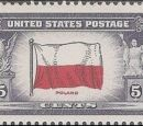 United States of America 1943 Overrun Countries Issue