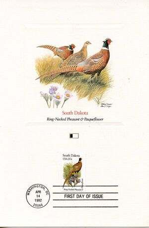 United States of America 1982 State birds and flowers FOLe5