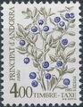 Andorra-French 1985 Flowers (Postage Due Stamps) i.jpg
