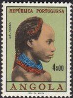 Angola 1961 Native Women from Angola j