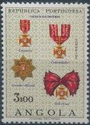Angola 1967 Portuguese Civil and Military Orders f