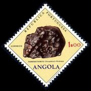 Angola 1970 Fossils and Minerals from Angola b