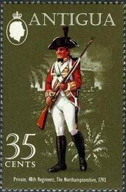 Antigua 1971 Military Uniform d