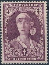 Belgium 1931 Queen Elisabeth g
