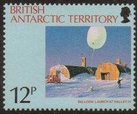 British Antarctic Territory 1991 Antarctic Ozone Hole a