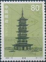 China (People's Republic) 2002 Lighthouses a