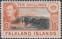 Falkland Islands 1938 George VI and Landscape (1st Issue) i