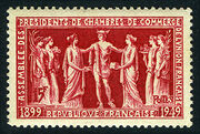 France 1949 50th Anniversary of the Assembly of Presidents of Chambers of Commerce of the French Union a