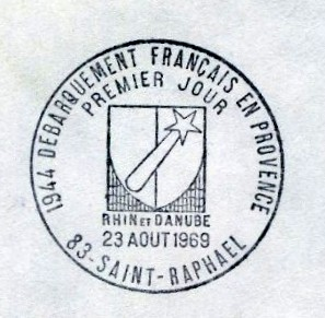 France 1969 25th Anniversary of the Landing of French and American Forces in Provence PMa