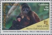 Grenada Grenadines 1995 100th Anniversary of Sierra Club - Endangered Species e