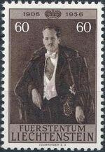 Liechtenstein 1956 50th Birthday of Prince Franz Joseph II d