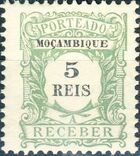 Mozambique 1904 Postage Due Stamps a