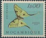 Mozambique 1953 Butterflies and Moths h