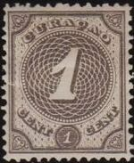 Netherlands Antilles 1889 Numbers a