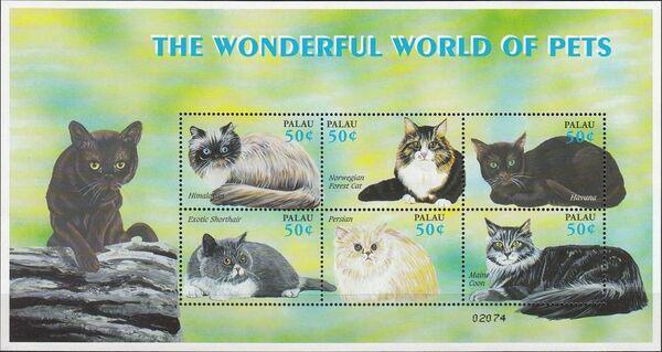 Palau 2002 Cats and Dogs Sa