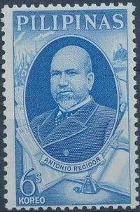 Philippines 1966 Antonio Regidor Commemoration a