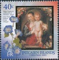Pitcairn Islands 2003 Christmas a